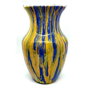 "6 Inch vase - ""Sunrise Sunset"" Design by Northern Latitude Gardens of Montana"