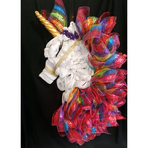 Magical Unicorn Wreath from Creations by Caron