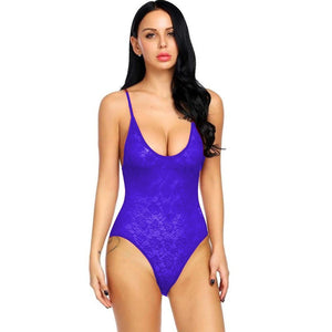 Women's Soft Silk Lycra Honeymoon Lingerie Nightwear V Neck Sleepwear