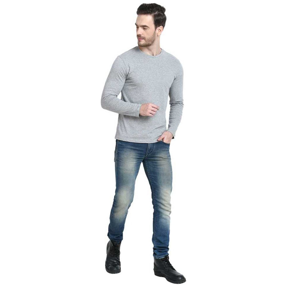 Combo of 2 Solid Round Neck T-shirt