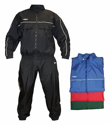 YOUTH'S UMBRO TRACKSUIT FULL ZIP TOP AND JOGGING BOTTOMS PANTS