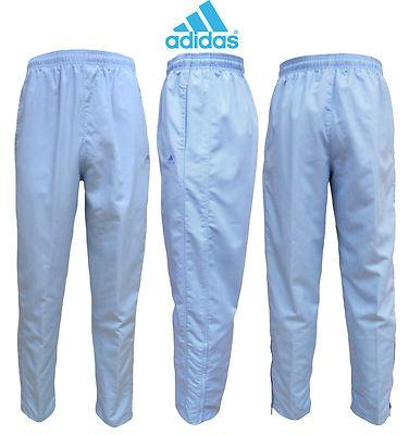 Ladies Adidas Coord Woven Jog pants with elasticated waist and hem zip opening