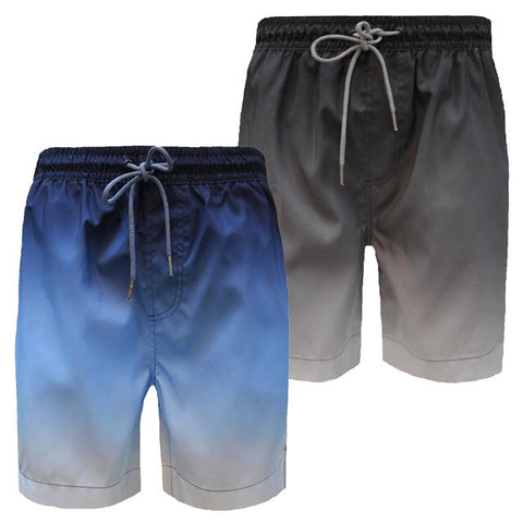 Threadbare Mens Ombre Summer Beach Mesh Lined Swimwear Shorts Trunks Dunbar