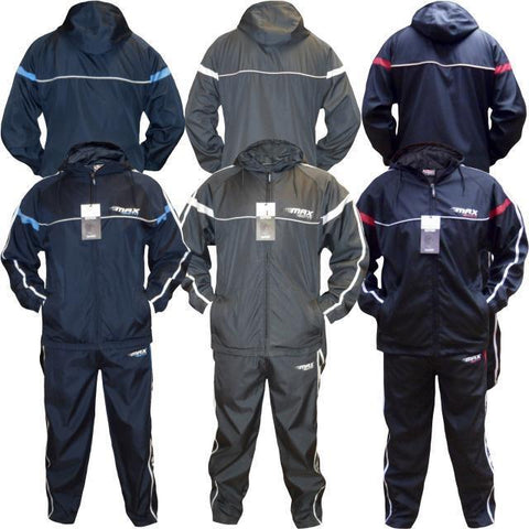Mens Max Edition RACER polyester easy fit full tracksuit