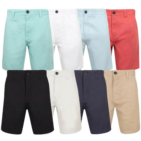 Mens Shorts South Shore BILLY'S BAY Chino Pants Cotton Twill Summer Fashion New