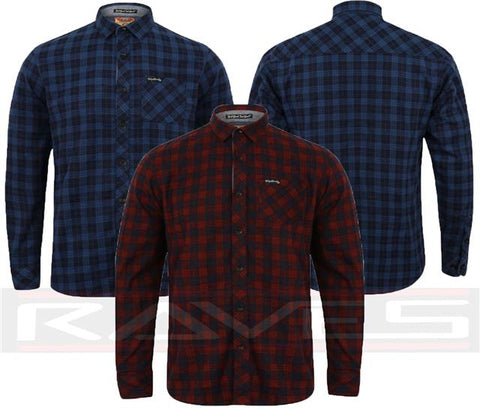 Mens Tokyo Laundry Designer Cotton Top Printed Flannel Check Shirt S-XL GLENDALE