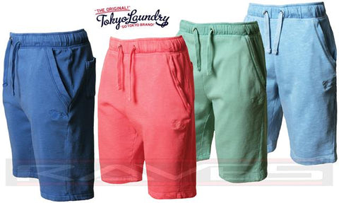 Men's Tokyo Laundry Shorts,Sweat,Gym Fashion,Jogging Bottom Fleece Short GASPER