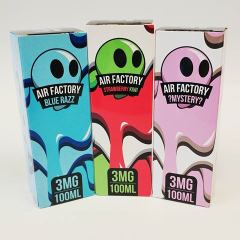 Air Factory E juice 100ML (NEW FLAVORS AT Reduced Price)