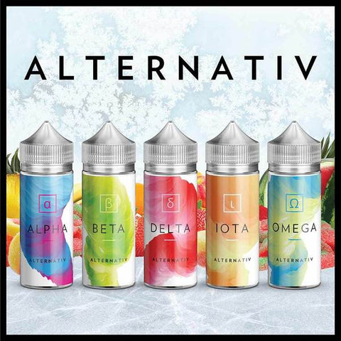 Alternativ E-Juice 100ml by Marina Vape (Reduced Price)