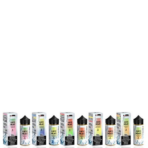 Juice Head Freeze Collection 100ml Vape Juice