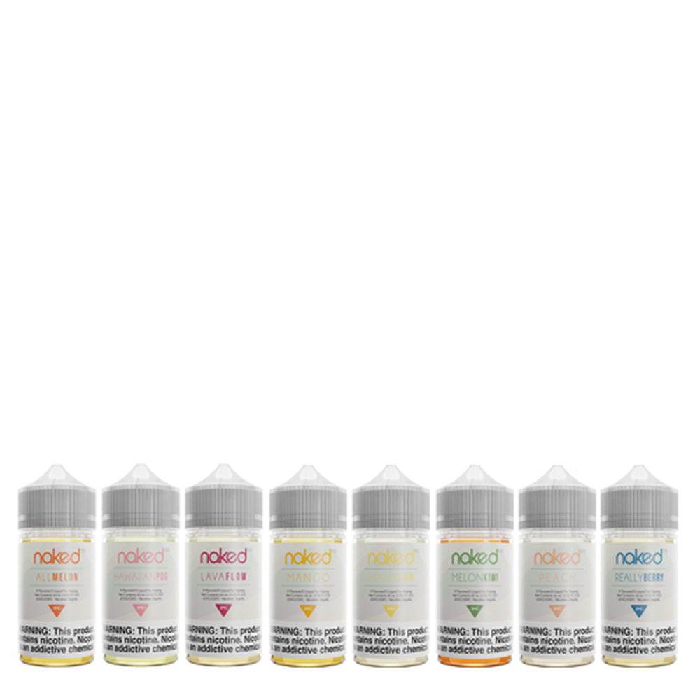 Naked 100 Eliquids 60ML Bottles