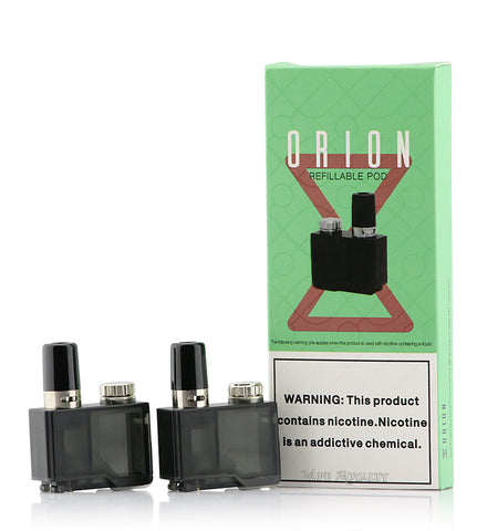 Lost Vape Orion Q (1.0ohm) and Orion DNA (.25ohm) Replacement Cartridge (Pack of 2)