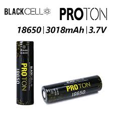 Proton 18650 3018mah by BlackCell Batteries (2 batteries per order)