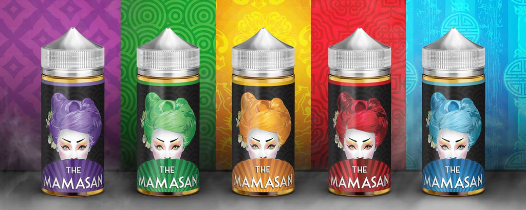 The Mamasan 100ML Ejuice