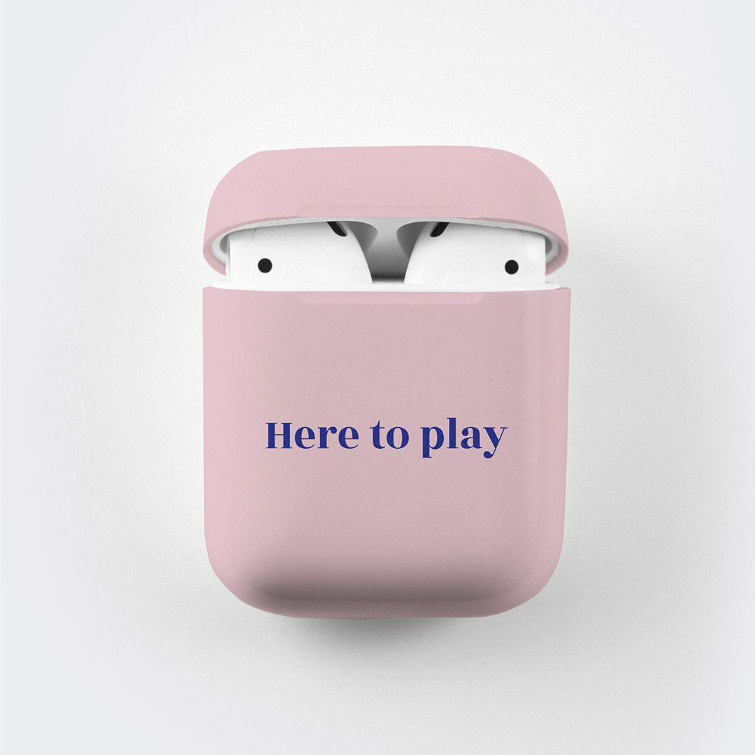 AirPods Case <span>Here to Play, Here to Stay</span>