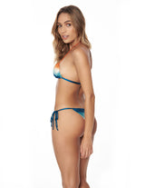 Conjunto Shells Orbit Atardecer Mix. Conjunto De Bikini Color Atardecer Mix. Entreaguas