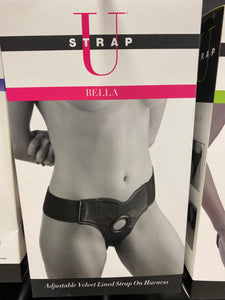 STRAP U BELLA VELVET LINED STRAP ON HARNESS