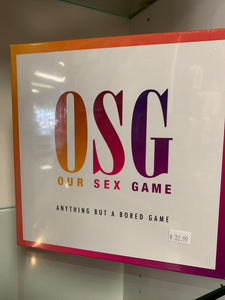OSG OUR SEX GAME