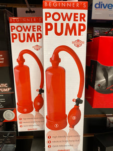 BEGINNERS PUMP - RED