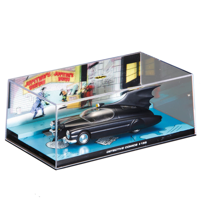 #192 Licenced Collectibles - Eaglemoss Batmobiles RRP £6000 *Box Damaged Items*