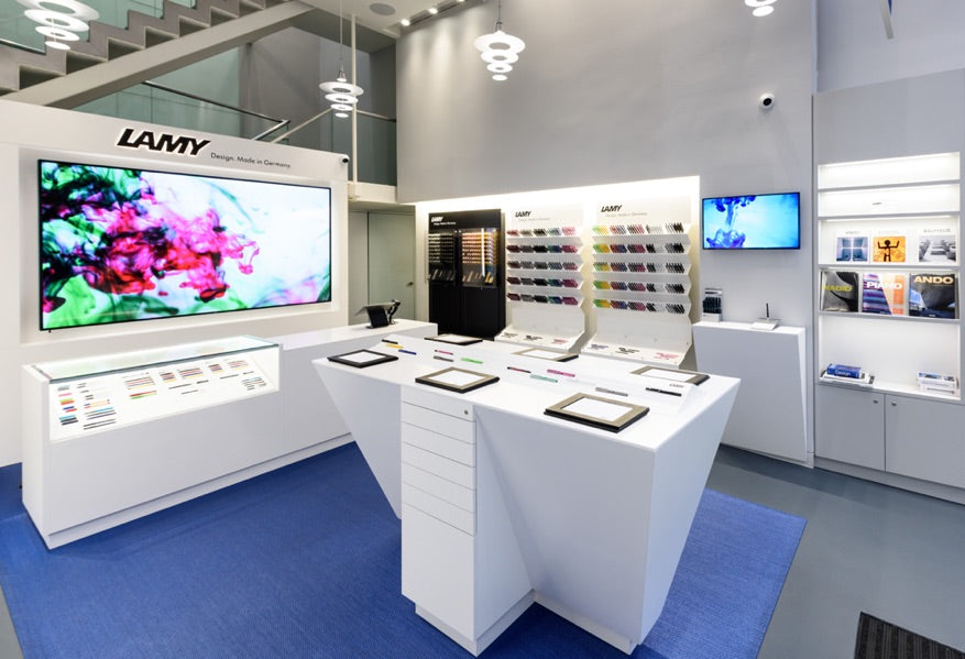 Lamy flagship store new york
