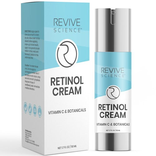 Retinol Cream Moisturizer to Remove Wrinkles, Acne, Dark Spots & Treat Hyperpigmentation - 1.7 Oz