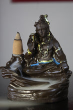 Load image into Gallery viewer, Shiv Ji Backflow Reverse Incense Burner Holder Incense Cone Holder (Fountain)
