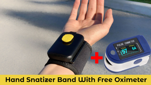 Hygiene Band With Free Pulse Oximeter