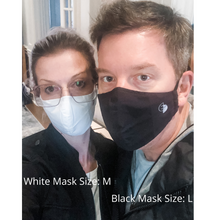 Load image into Gallery viewer, White High-Performance Face Mask (REUSABLE)