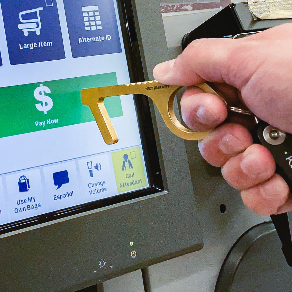 Touchscreens - Like store checkouts and digital signatures