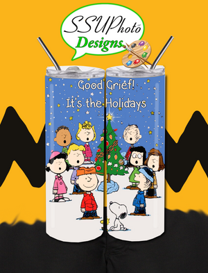 Cbrown Winter Holiday Collection  Tumbler