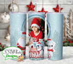 Winter Holiday Photo Collection 20oz Tumbler
