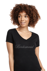 Bridesmaid Rhinestone Wedding Apparel