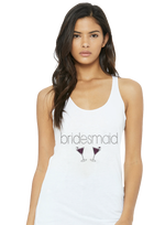 Bridesmaid Rhinestone With Wine Glass Wedding Apparel