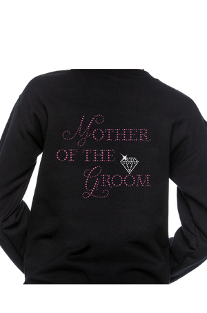 Mother of the Groom Pink Rhinestone Apparel