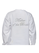 Mother of the Bride Silver Rhinestone Wedding Apparel