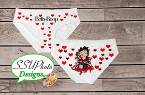 Betty Boop Women Bikini Underwear Digital File