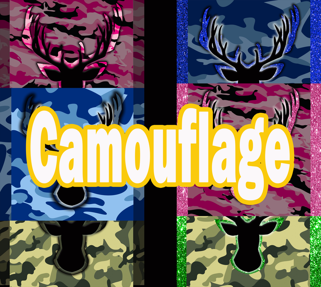 Camouflage Collection 20 OZ Skinny TumblerD Digital Design