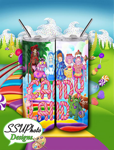 Board Game Candy Land Tumbler
