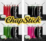 Chapstick Collection 20 OZ Skinny TumblerD Digital Design
