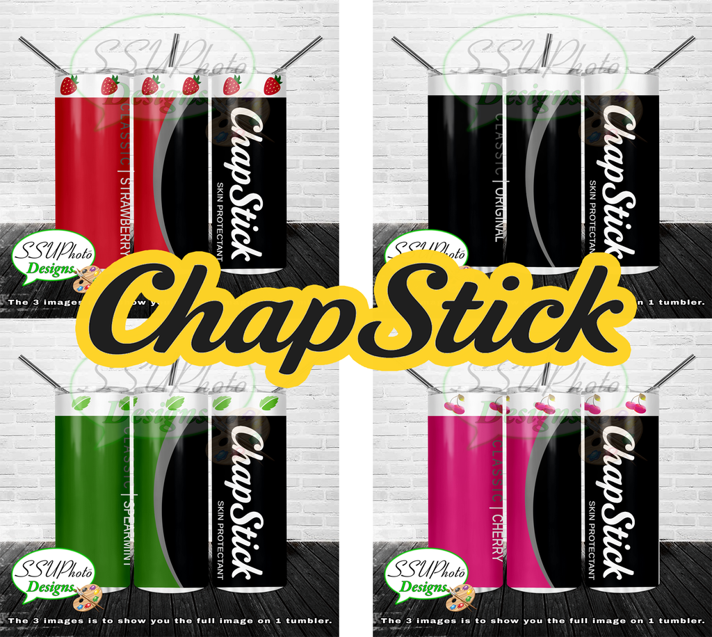 Chapstick Collection Tumblers