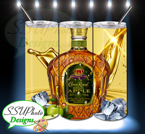 Crown Royal Green Apple Tumbler