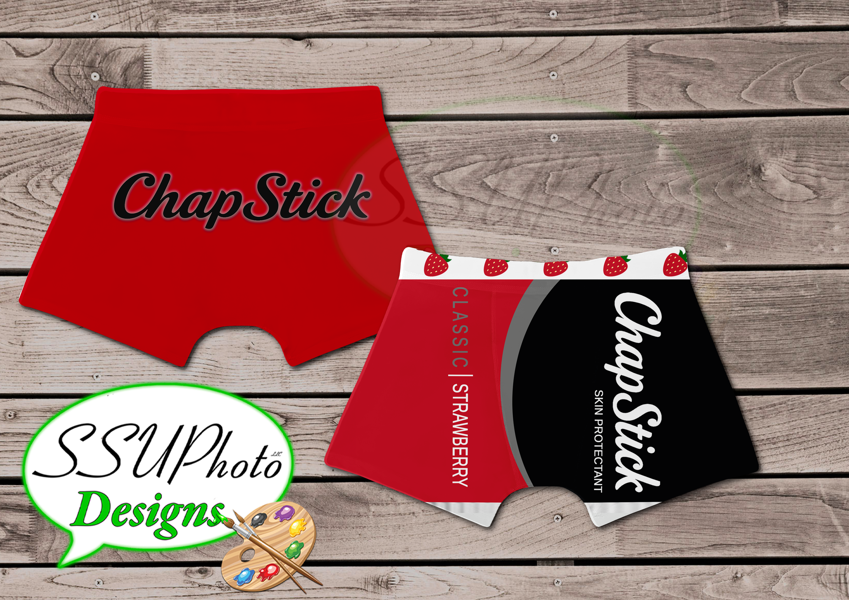 Chapstick Mens Boxers Digital File