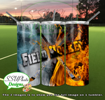 Sports Fire and Ice Collection Tumbler