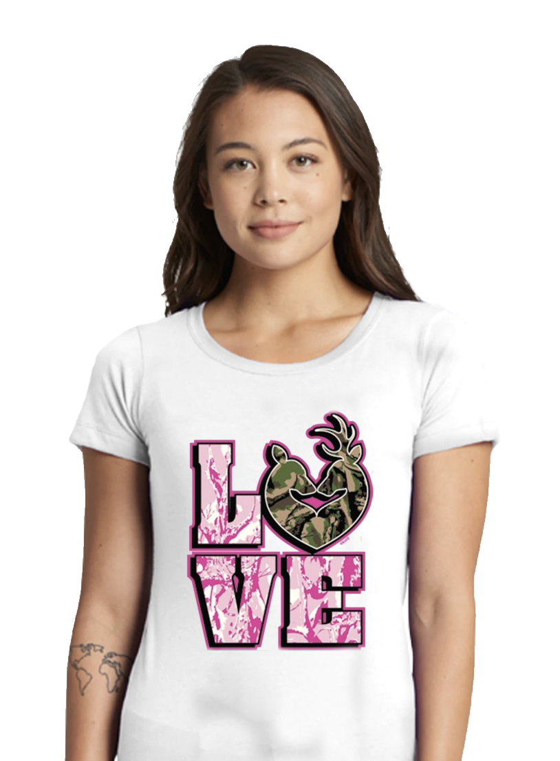 Camouflage Love Wedding Apparel