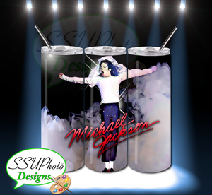 MJ 20 OZ Skinny Tumbler Straight Digital