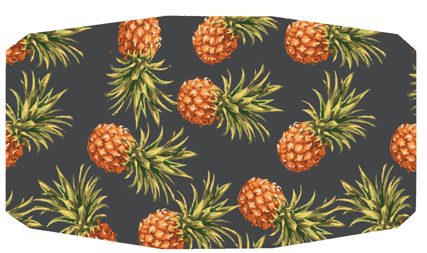 Pineapple Digital Silky Template