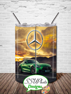 Benz3 20 OZ Skinny Tapered TumblerD Digital Design