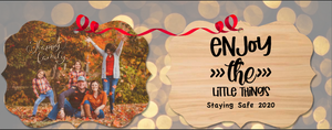 Enjoy the Little things 2020 Christmas Ornament