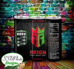 Reign Energy Drink (4) Skinny TumblerD Digital Design